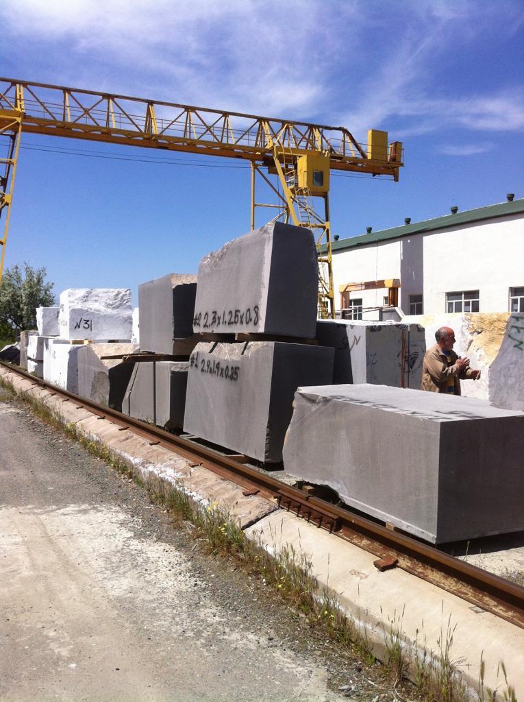 Basalt Grey Stone Blocks