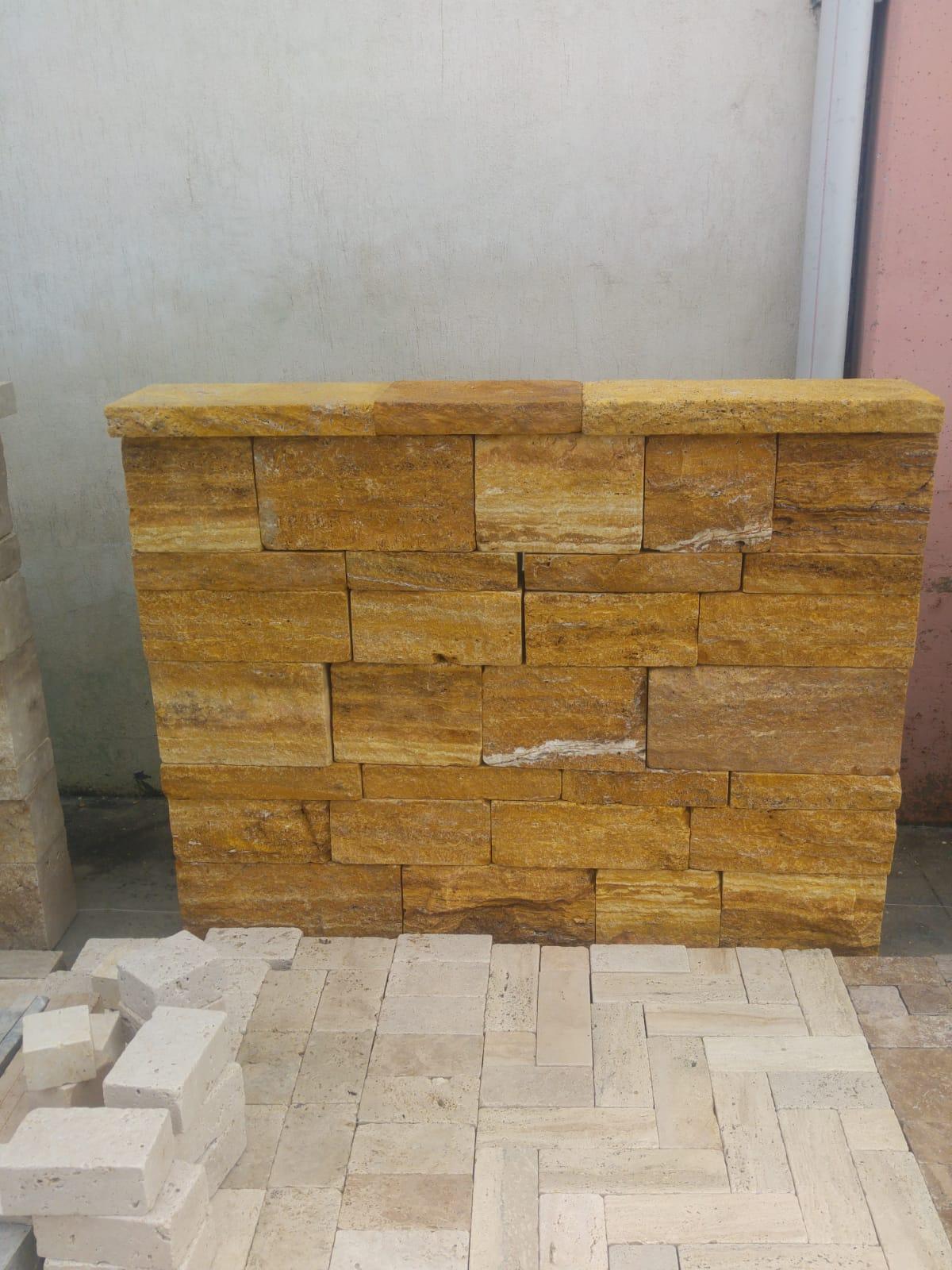 Turkish Travertine Wall Stone
