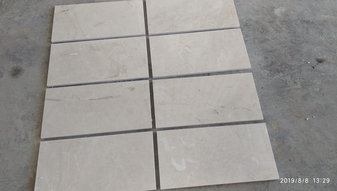 Burdur Beige Marble Tiles for Flooring