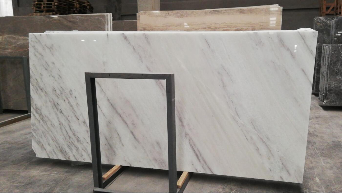Uludag White Marble Polished Slabs Turkey White Marble Slabs