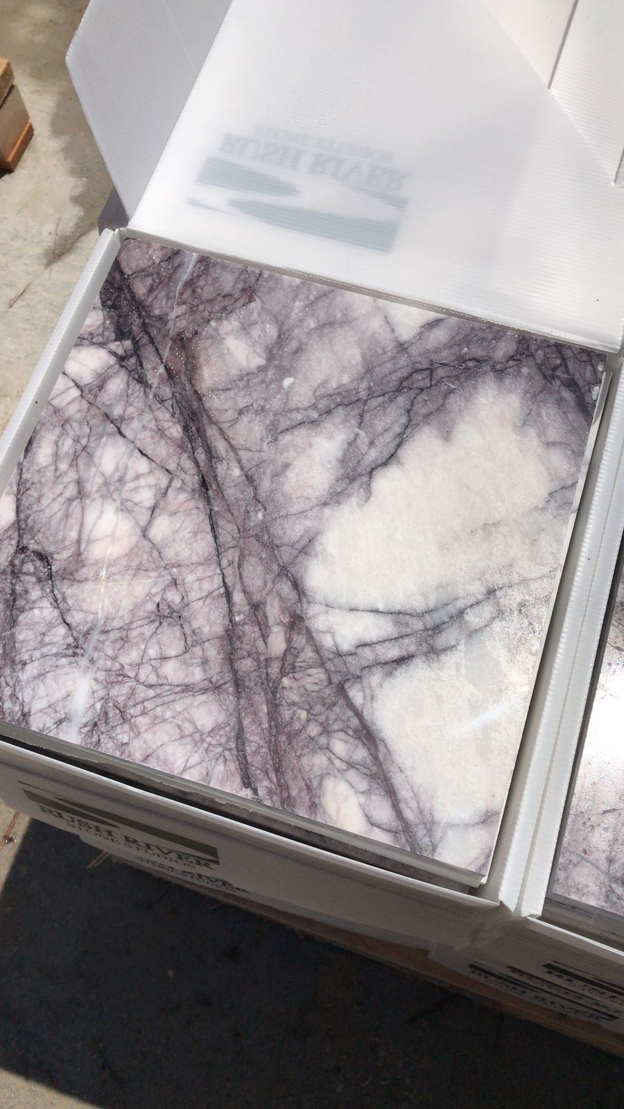 Lilac Marble Tiles for Flooring