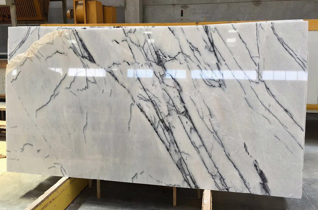 Lilac white new york selection marble