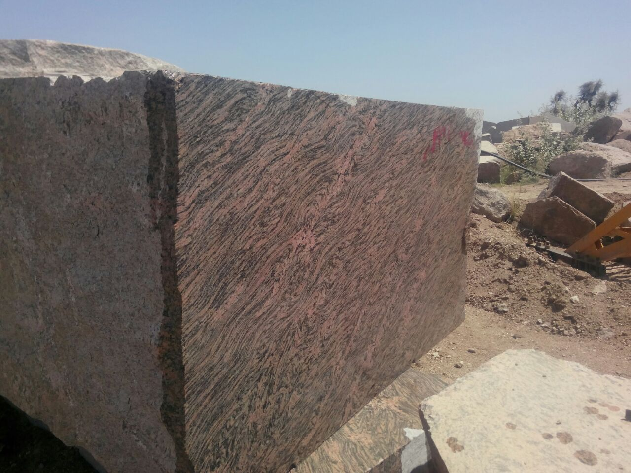 Muti Colour Granite Blocks