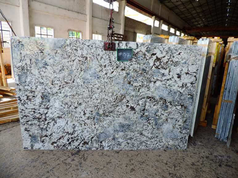 Ice Blue Granite Slabs