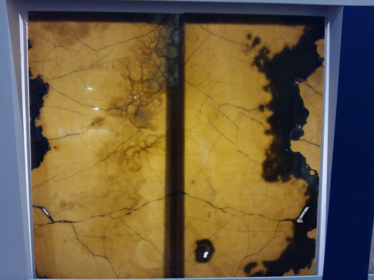 Yellow honey marble from zanjan