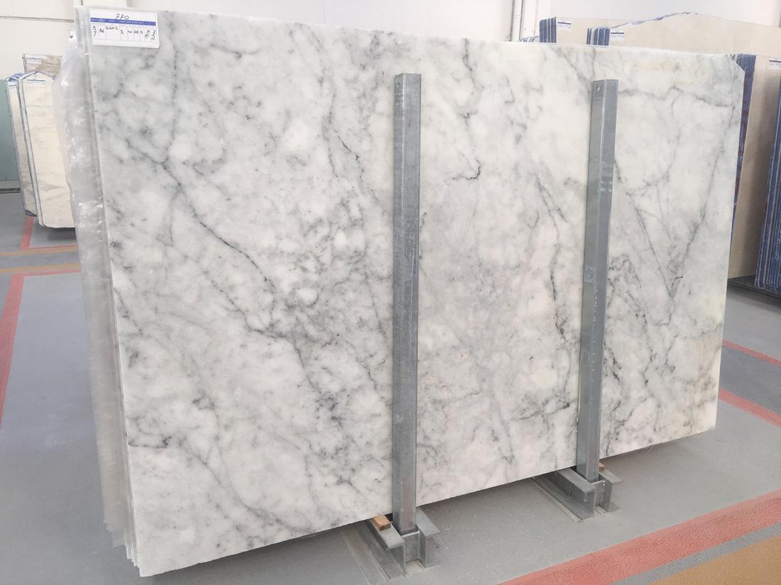 Top Quality Carrara White Marble Polished Slabs
