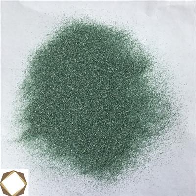 High purity green silicon carbide for polishing