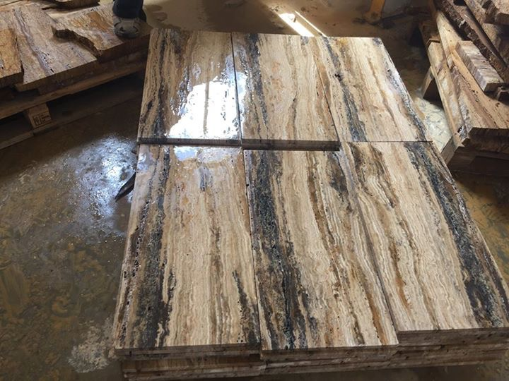 Travertine Tiles Honed Flooring Stone Tiles