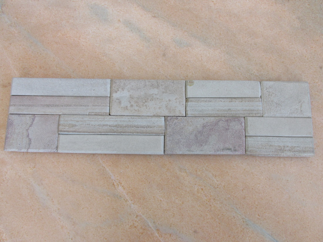 Natural yellow sandstone culture wall cladding stone