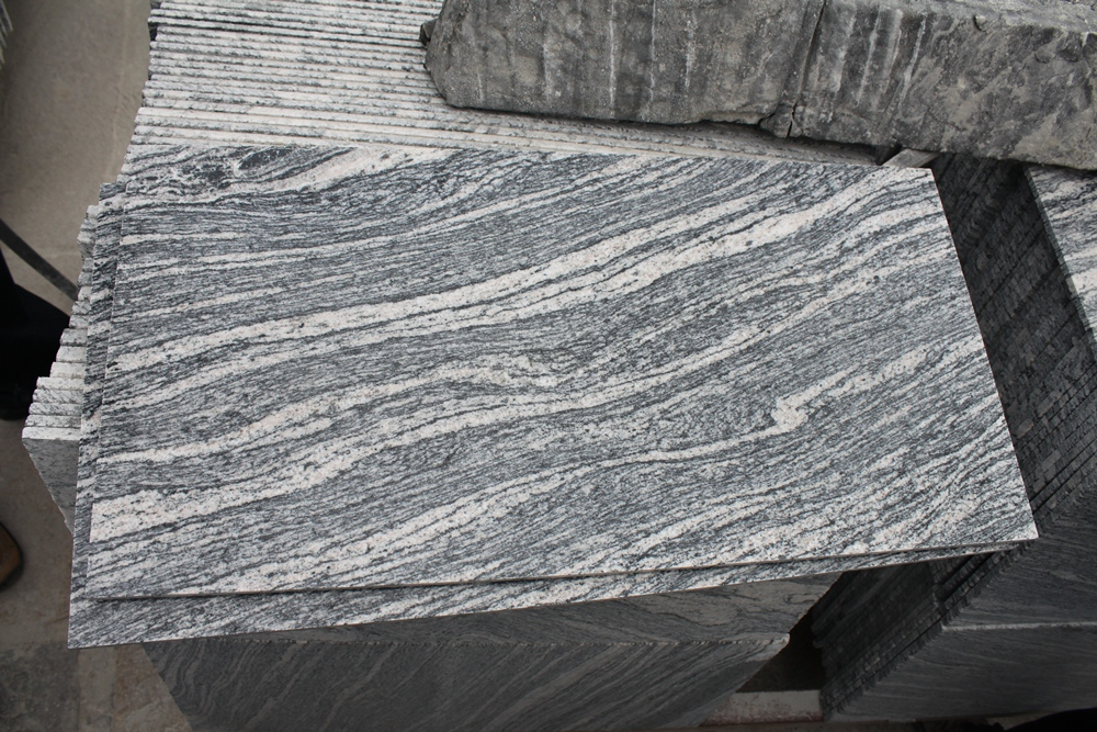 wave grey granite China juparana