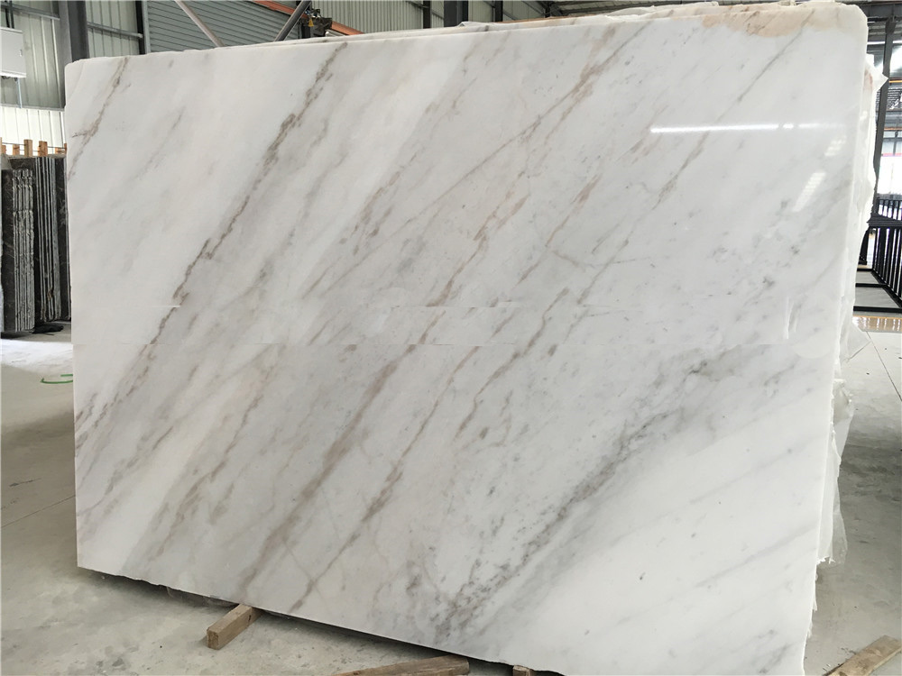 China Guangxi White Marble Tiles & Slabs