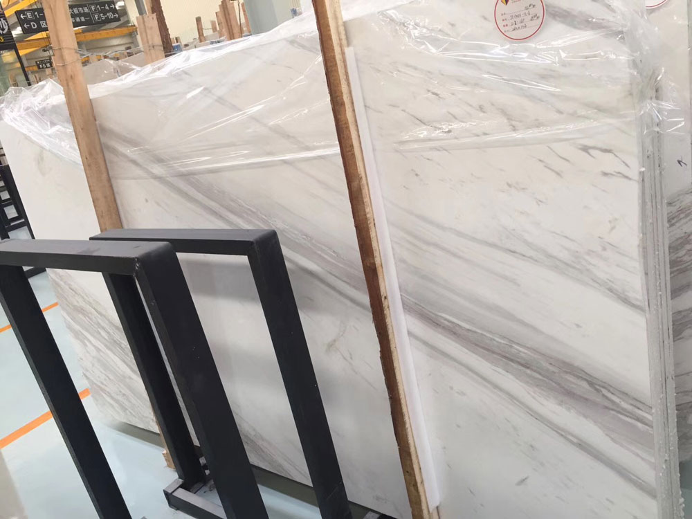 Volakas Slabs with 1.823 or customize cut PolishedPolishing Surface  directly from own China factory