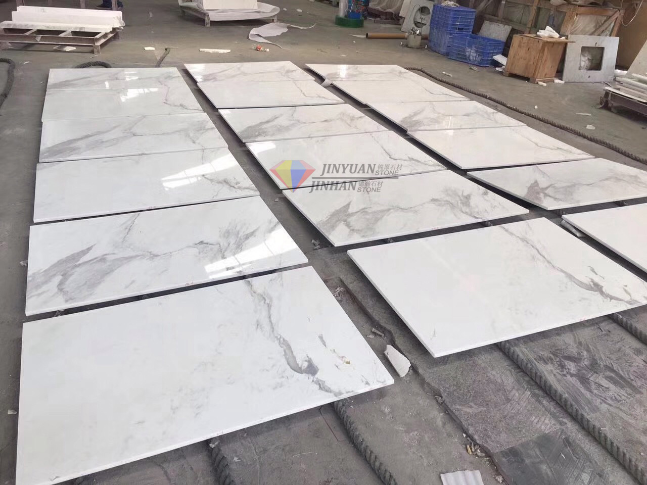 Greece Natural Stone Ariston White Marble Tiles