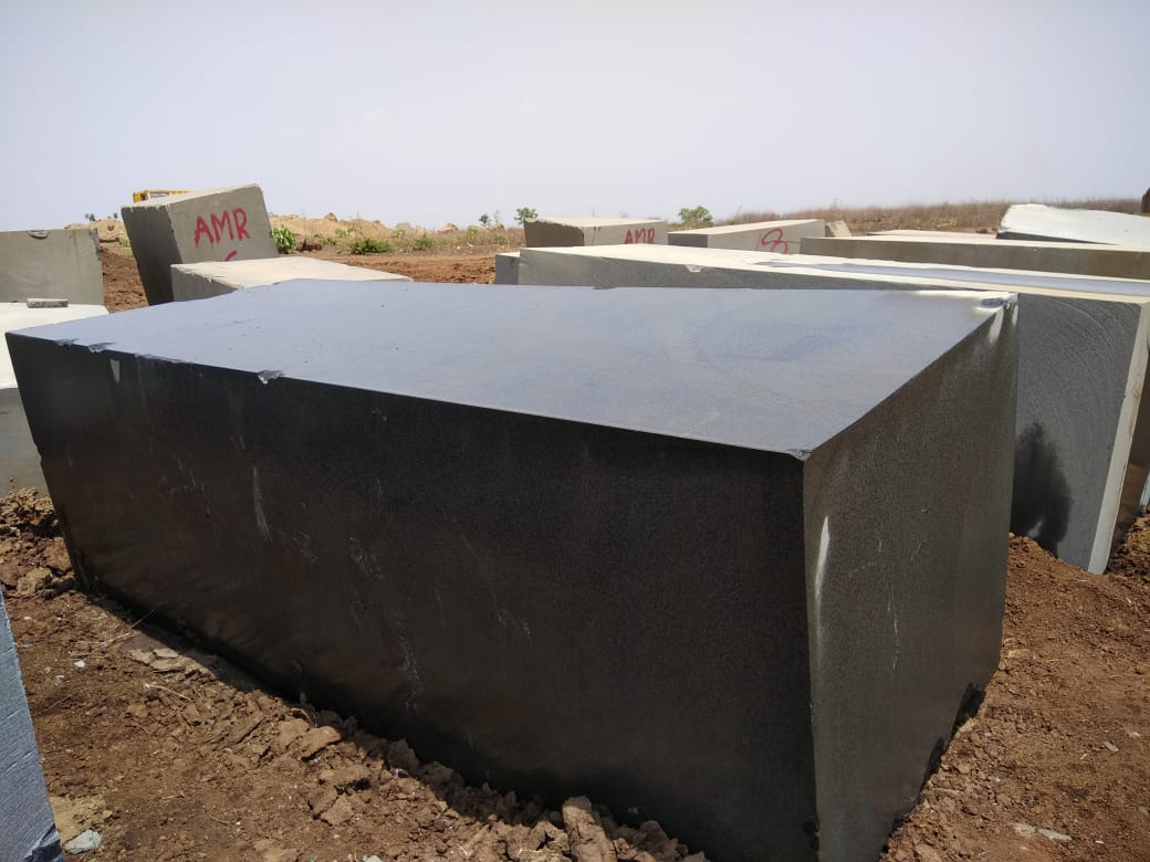Absolute Black granite Blocks
