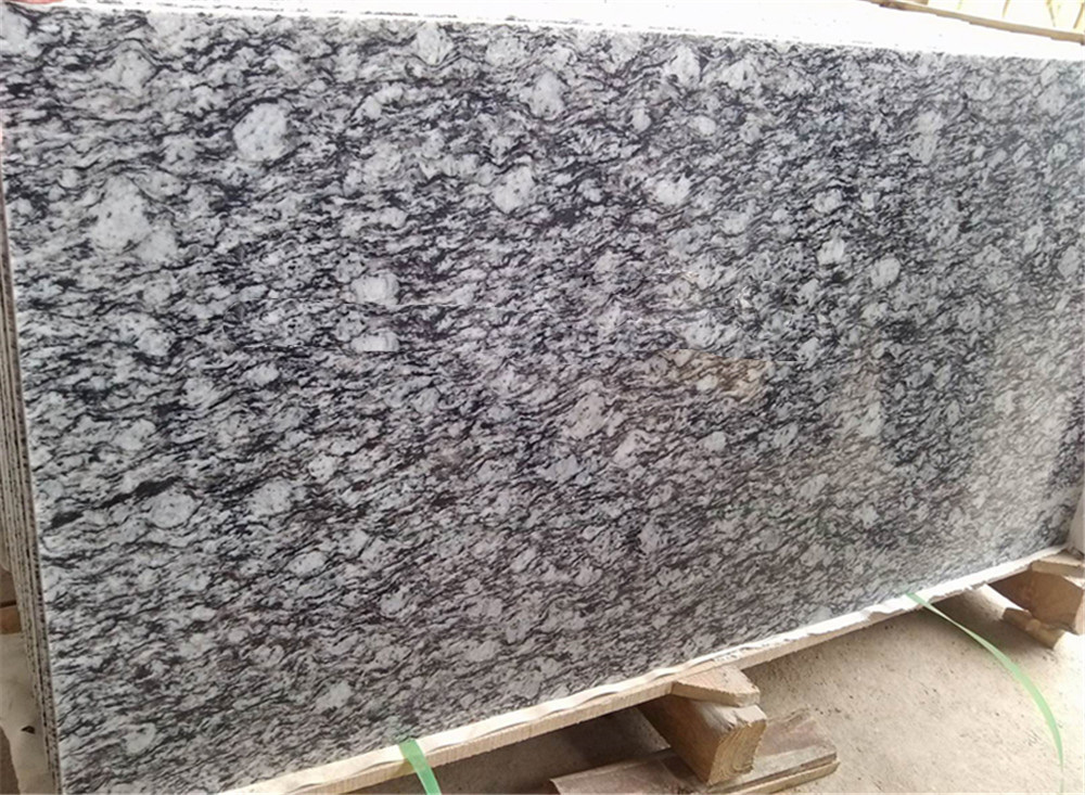 Spray White Granite Wave White GraniteTiles Slab