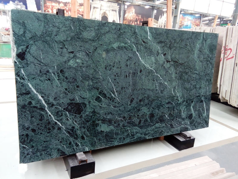 Italy green marble