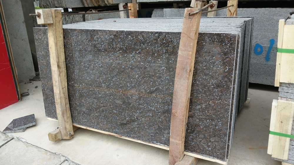coffee brown granite tile