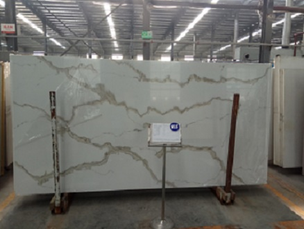 Calacatta quartz slabs for countertops