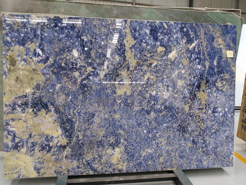 Solidate blue semi-precious stone