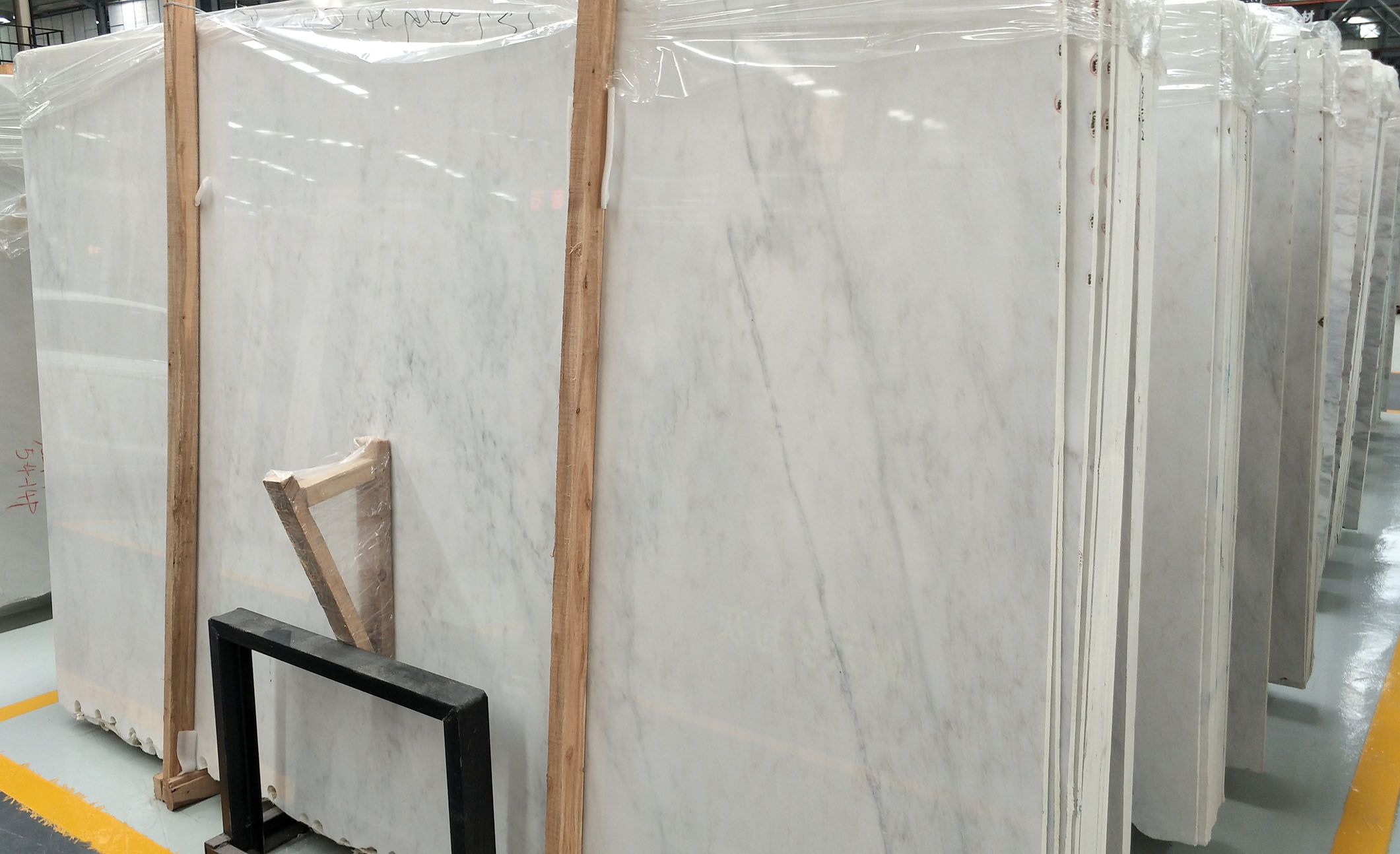 high quality chinese white marble slab