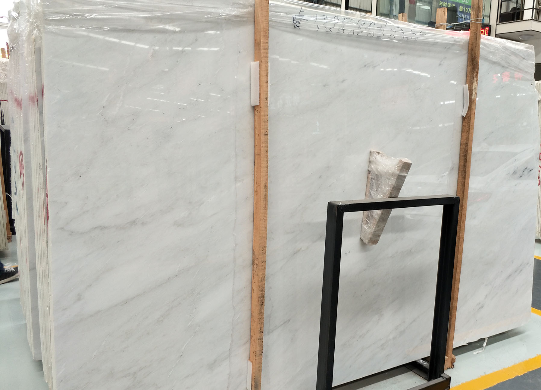 nice vein chinese oriental white marble slab