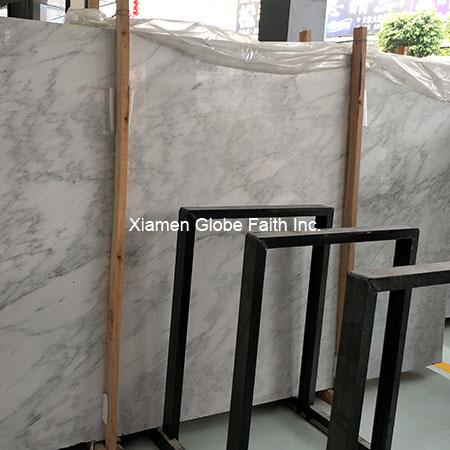 chinese white marble slab