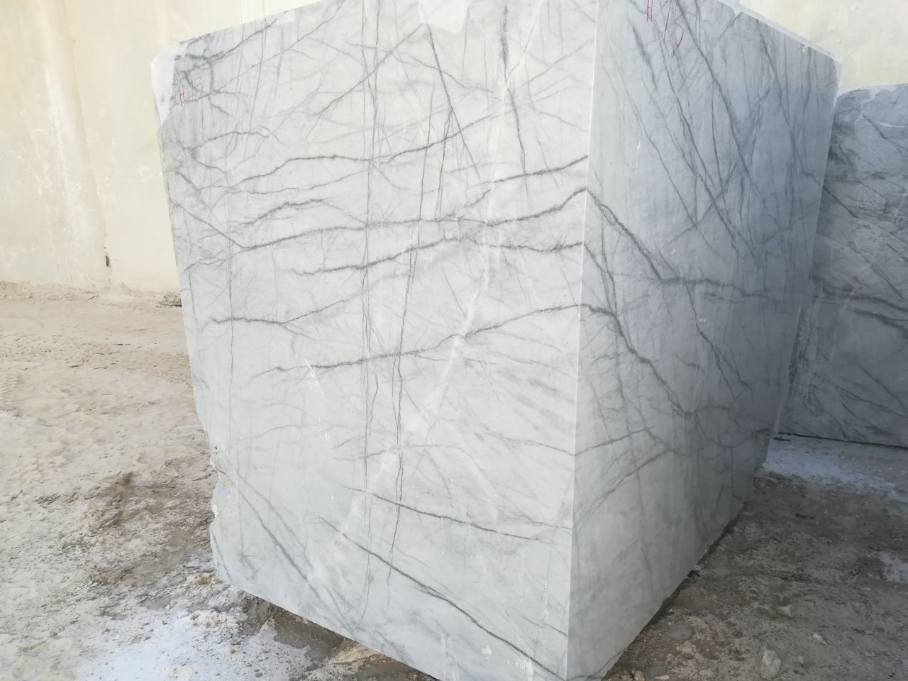 High Quality Spider white marble Iran Stone