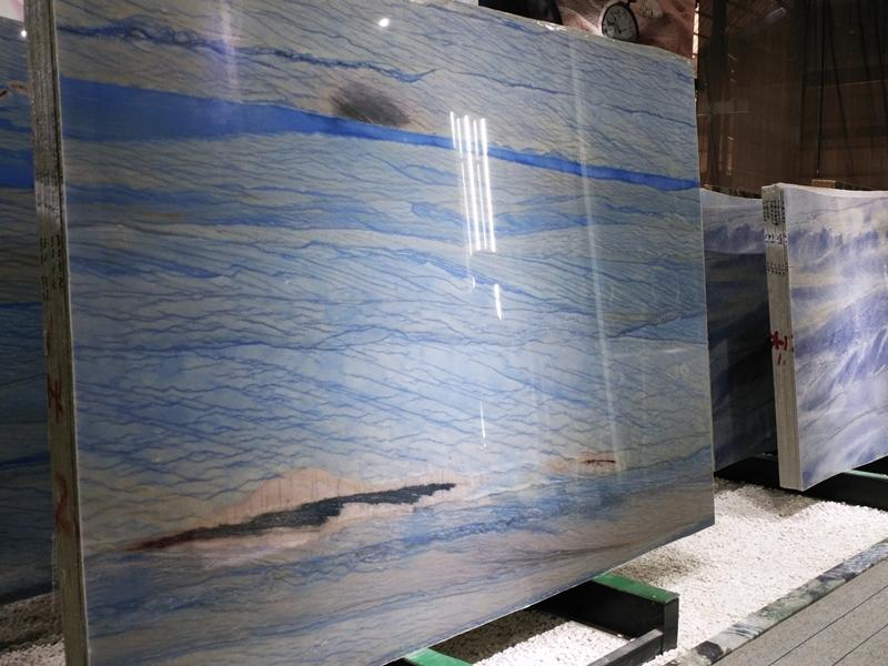 Azul macobus semiprecious stone