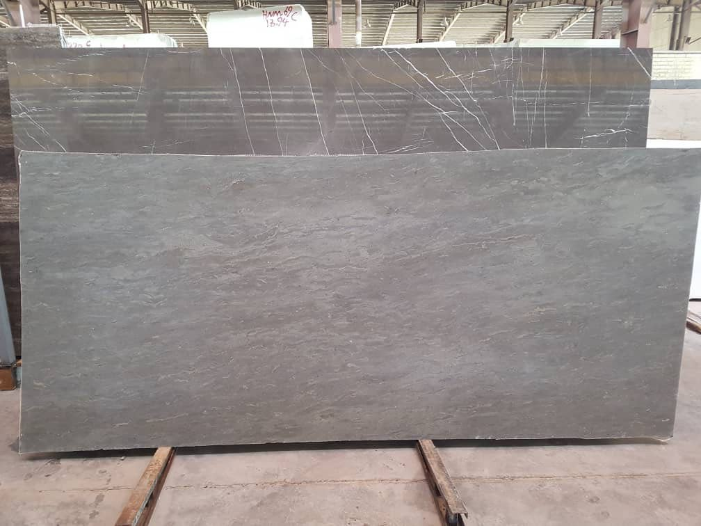 Gray Marble Slabs from Iran