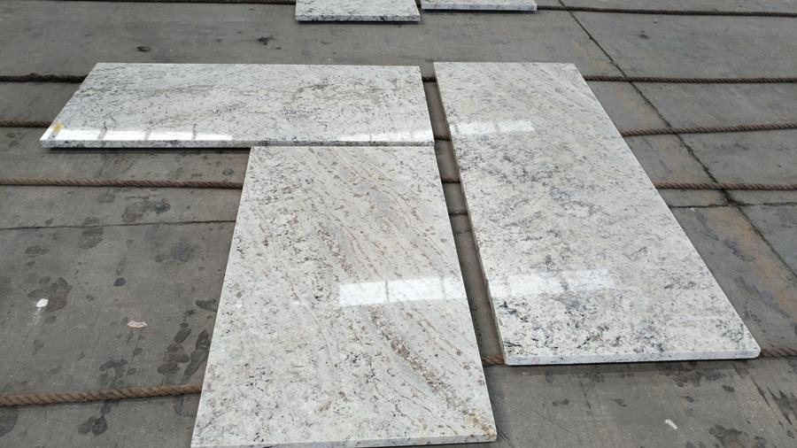 galaxy white granite countertop
