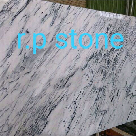 Polished White Marble Slabs from Iran