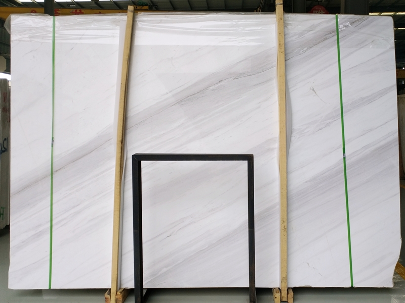 volakas white marble premium quality