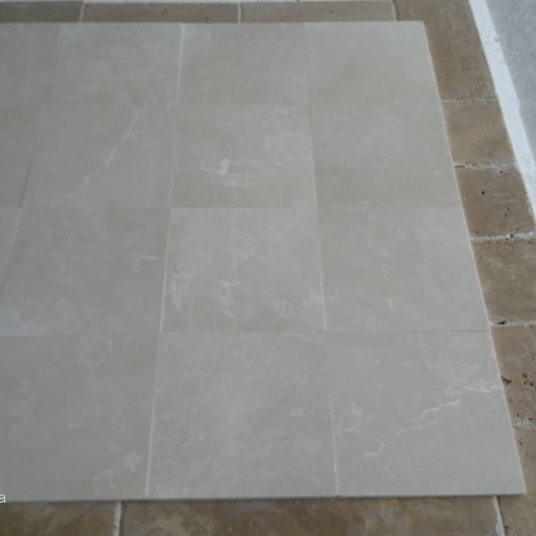 Beige Cream Bottacino Honed Marble Tiles