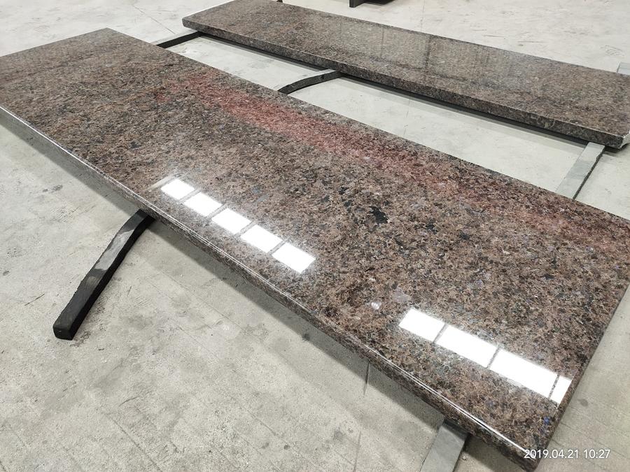 labrador antique brown granite countertop