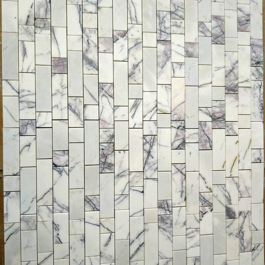 Lilac Marble Mosaic
