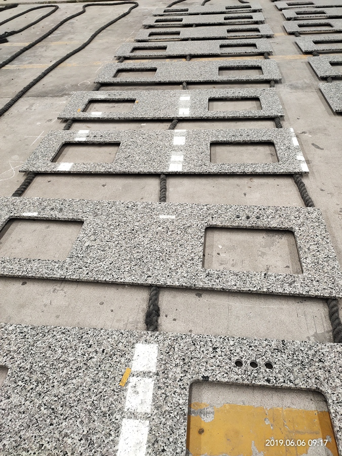 cheap price grey granite countertop for pormotion