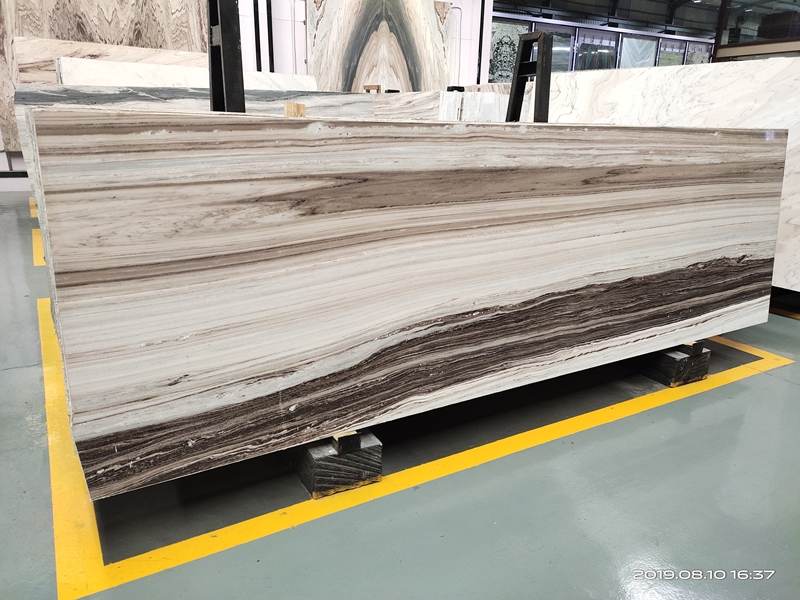 palissandro white marble