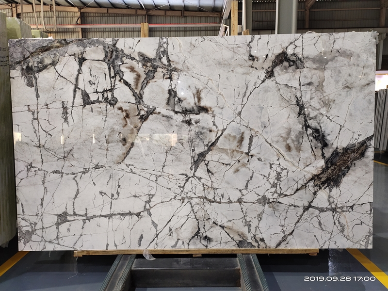 cold river snow white quartzite