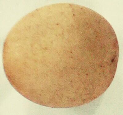 Quartz clear brownish