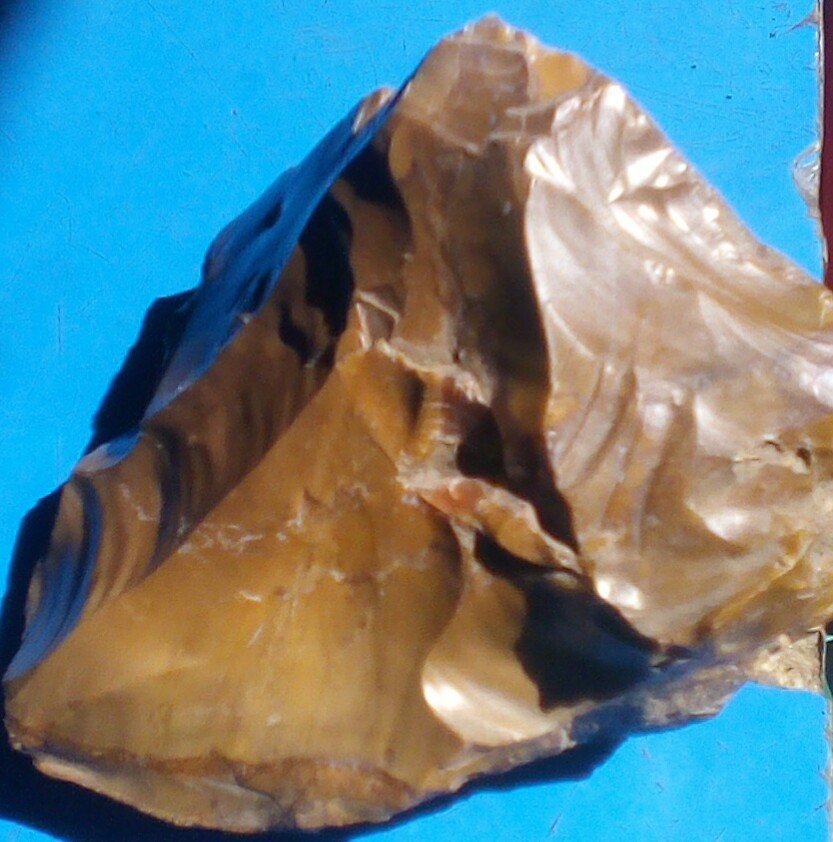 Quartz clear brownish