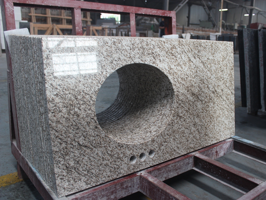 thailand gold granite vanity top