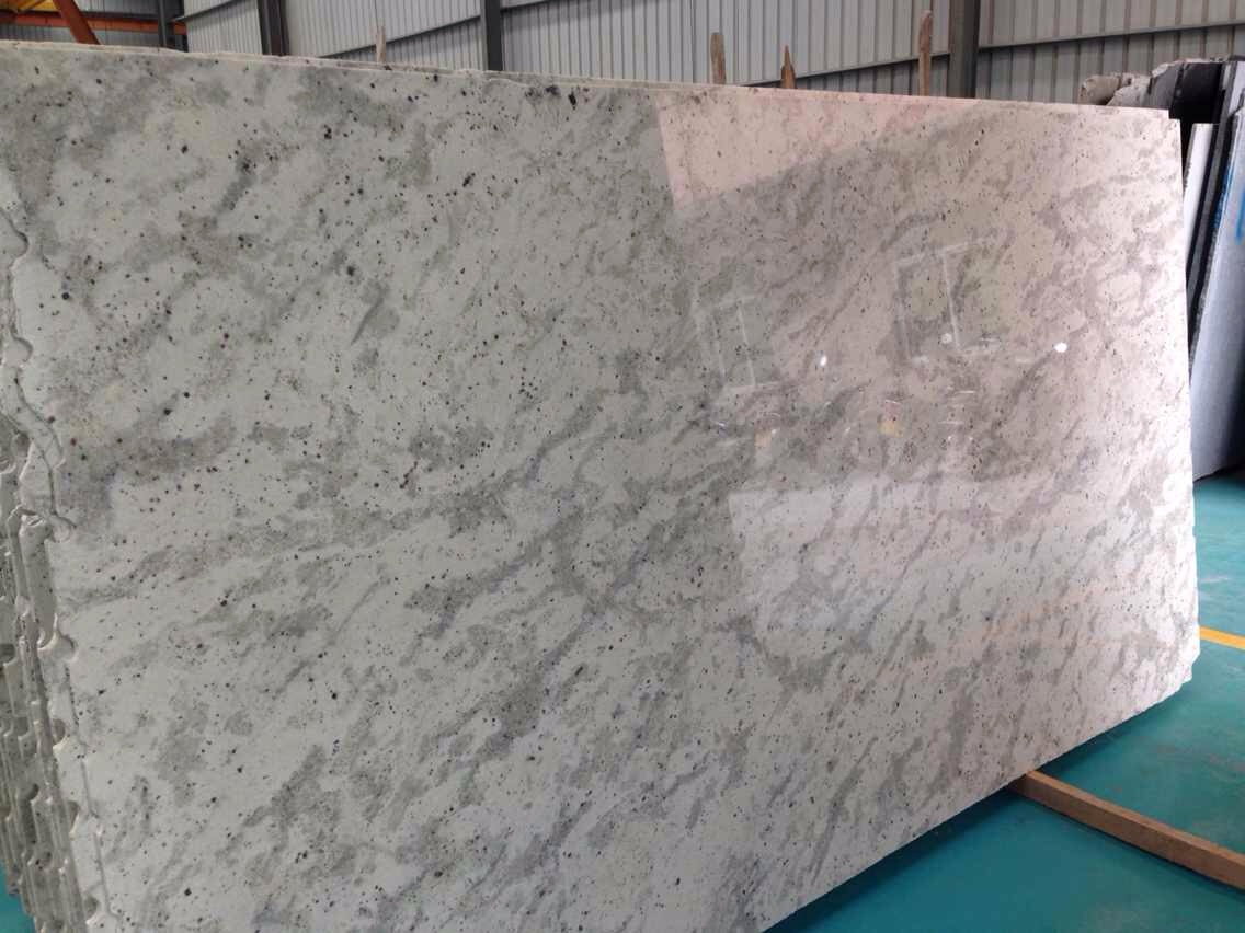 Andromedia White granite slab
