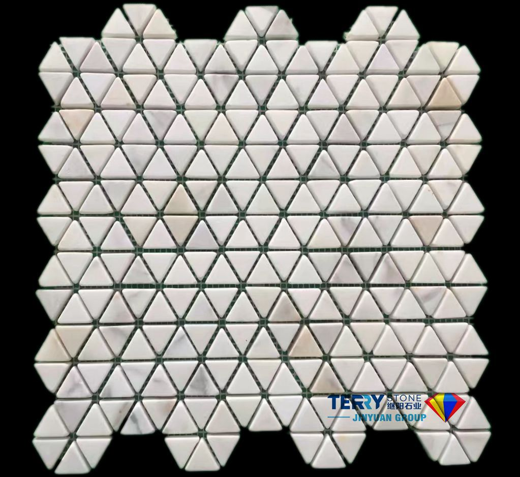 Calacatta Gold Mosaic Tiles  Marble Mosaic