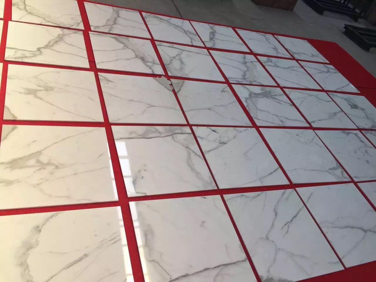 Calacatta White Marble Tiles