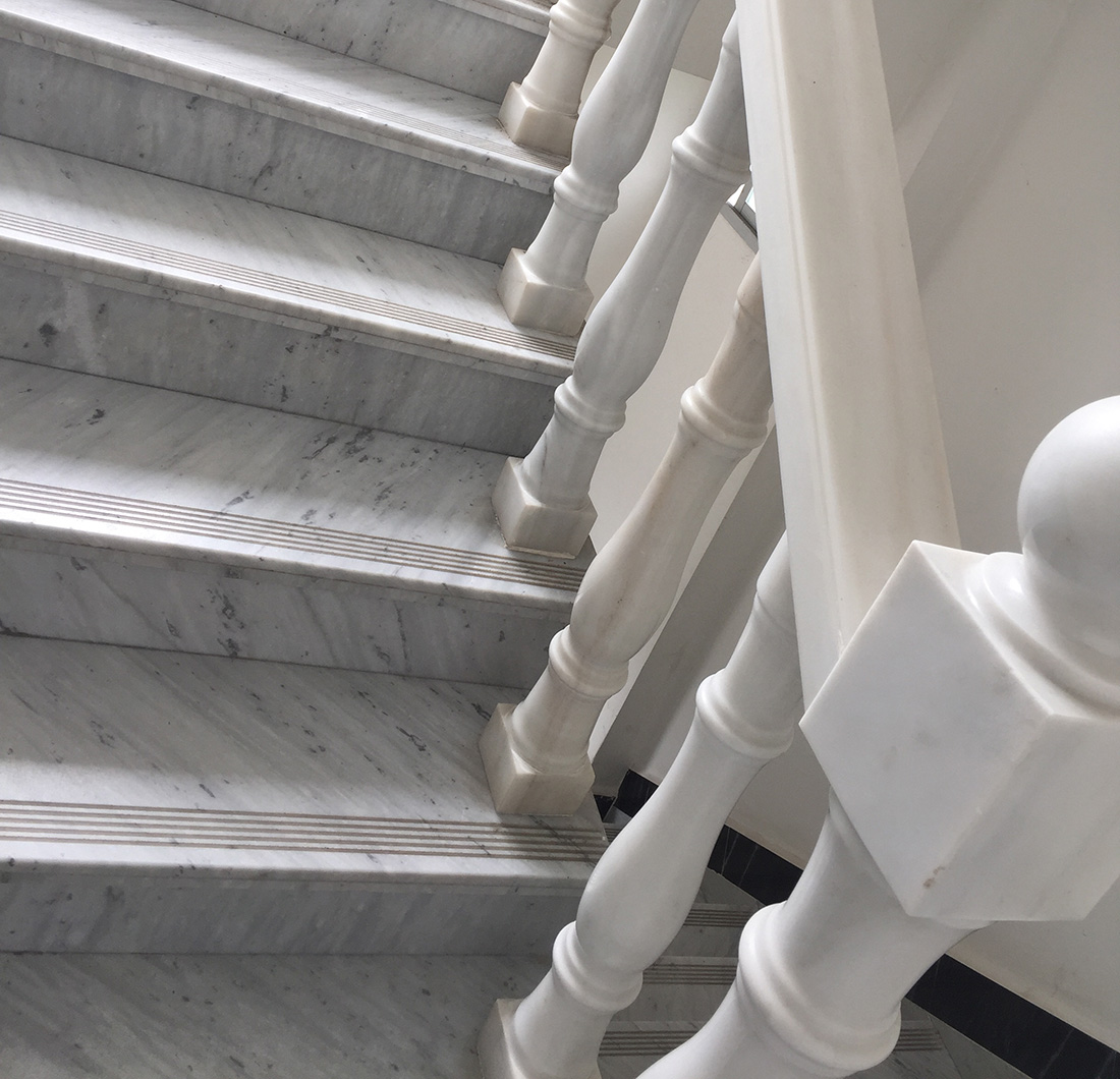 Marble Step And Stairs