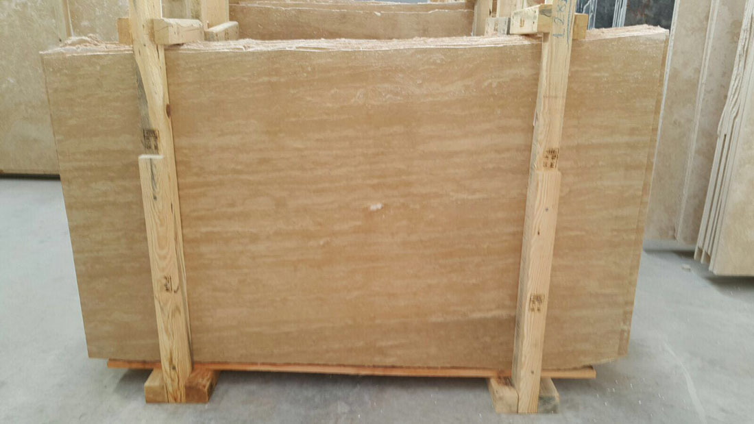 Turkey Beige Travertine Slabs