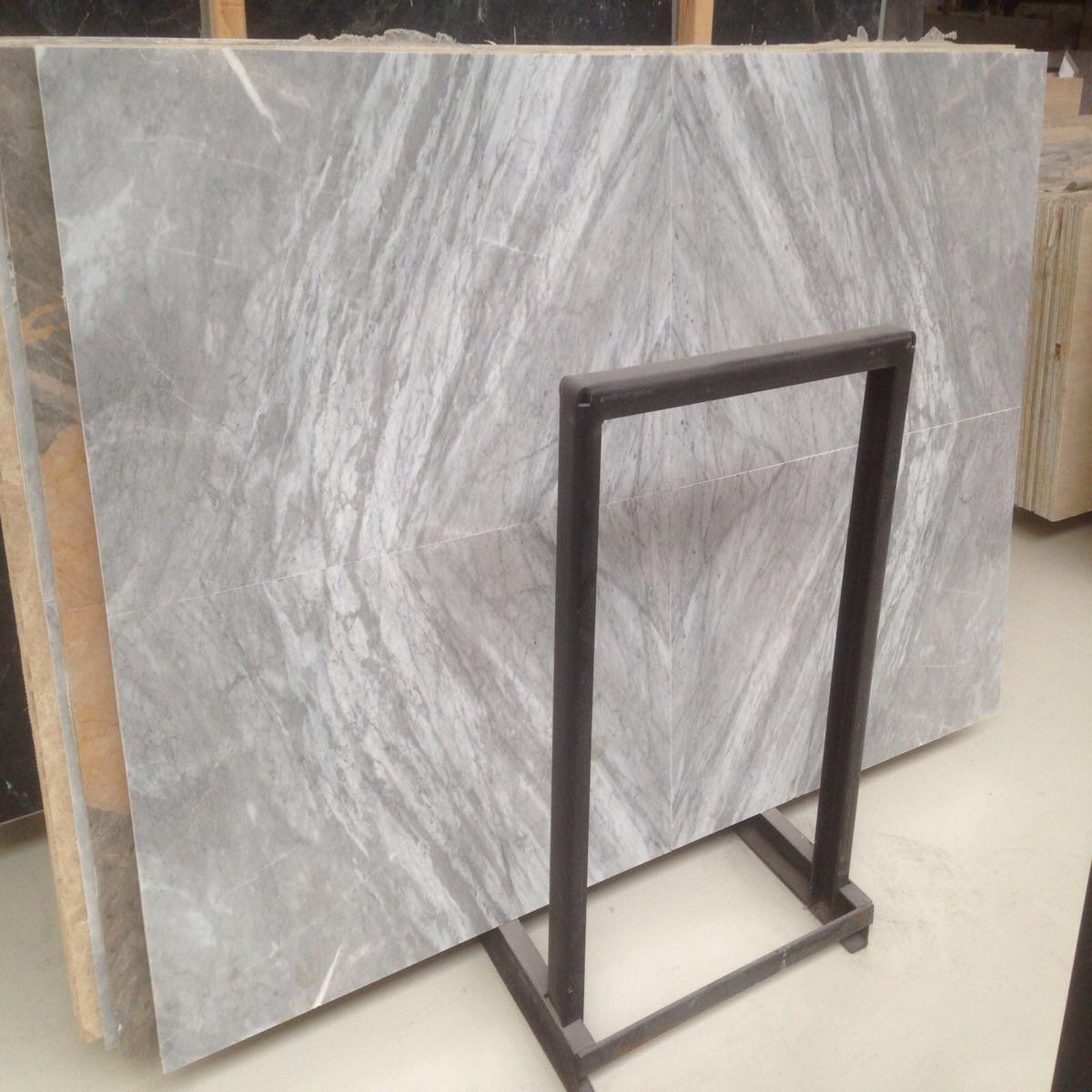Aegen gray marble slabs
