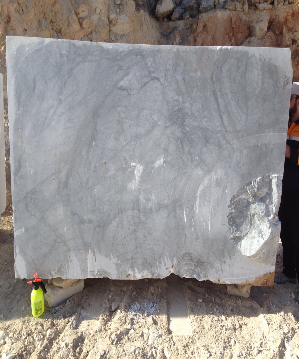 Aegen gray marble blocks
