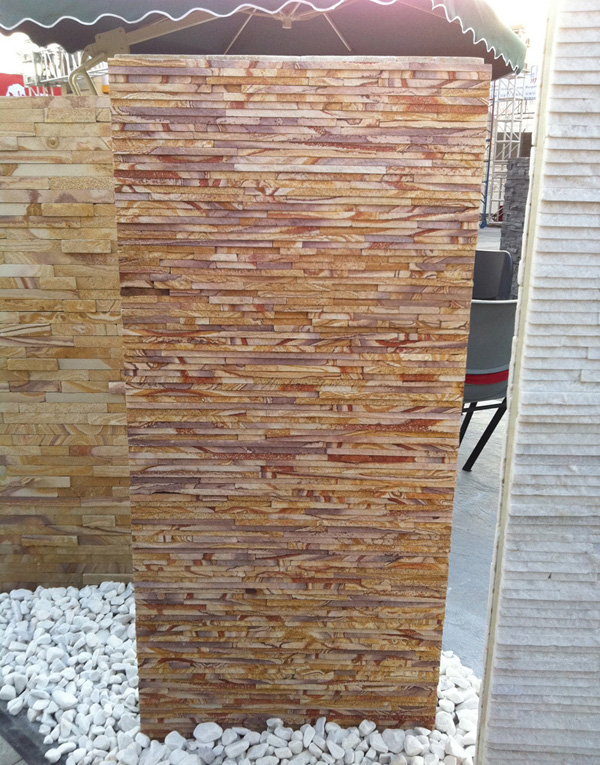 Interior Sandstone Water Fall Stone Veneer