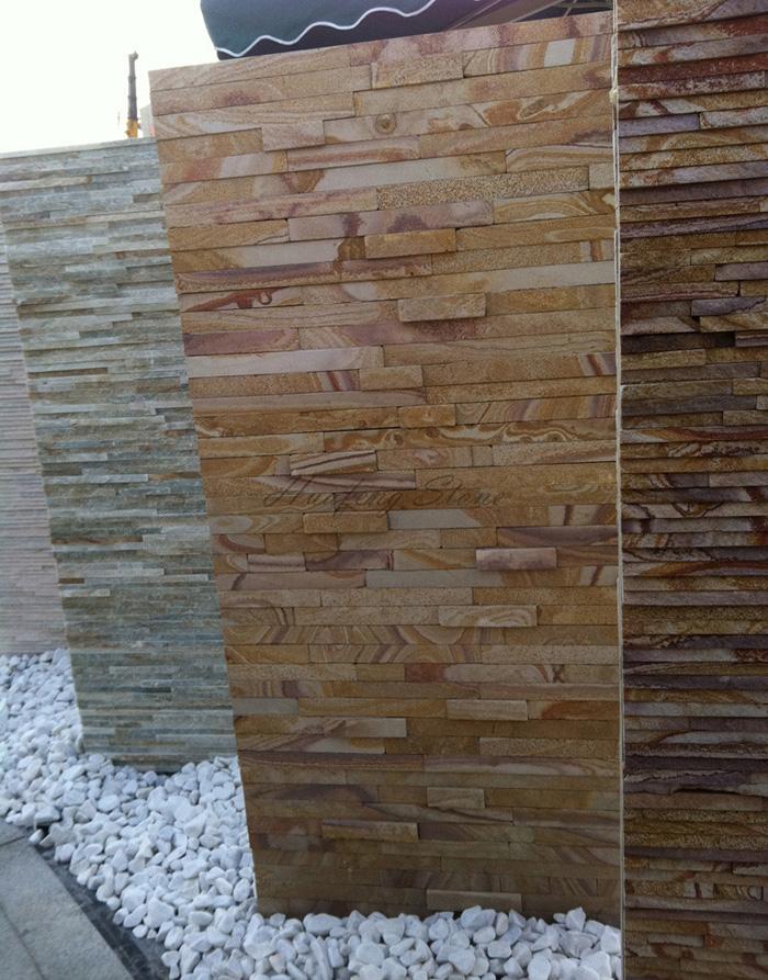 Exterior Sandstone Ledgestone Wall Culture Stone